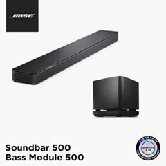 [BOSE] 보스 정품 사운드바 500 + 베이스 모듈 500 세트_(227359)