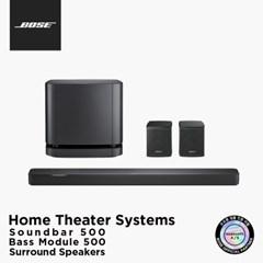 [BOSE] 보스 정품 사운드바 500 + 베이스 모듈 500 + 서_(227357)