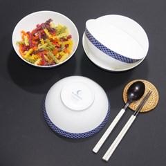 한국도자기 본차이나 블루문 면기 1p 다용도그릇 18cm