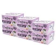 깨끗하개 기저귀 남아용 M-L 10매 x 6개 (pb)
