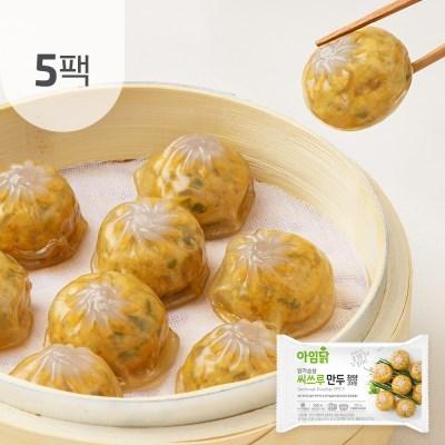 [아임닭] 닭가슴살 씨쓰루 만두 청양고추맛 180g 5팩