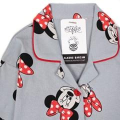알콩단잠 여아 초등학생잠옷 카라 미니마우스 디즈니 아동의류 파자