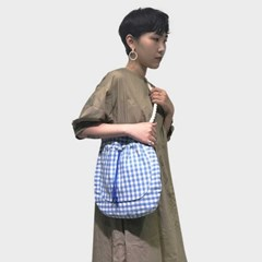 blue rope strap bag