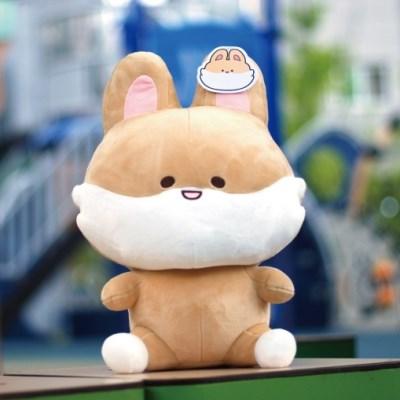 국내 캐릭터 크림여우 정품 대형인형