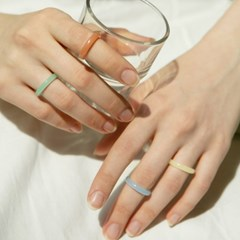 pastel ring 4set