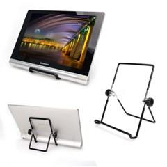 OMT 스틸 휴대용 접이식 태블릿 거치대 소형/대형 2type_(1529789)