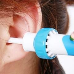 귀 진동 청소기 전동 귀클리너 귀이개 귀파개 귀지