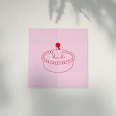 I Love Cake 포스터