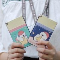 국내 캐릭터 피누 정품 목걸이 카드케이스