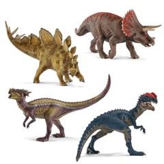 [슐라이히] 공룡세트 4P_C_(301802100)