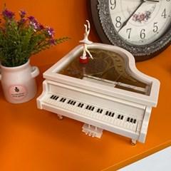10SPACE 감성 발레리나 피아노 오르골 WG038