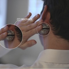 알루미늄 스트레스해소 집중력 향상 지압 마사지볼 키덜트