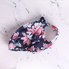 FLOWER STRAPTOP [ NAVY ]