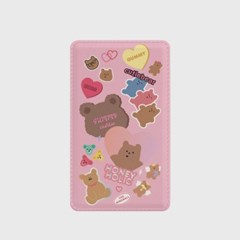 bear sticker pack 보조배터리_(921730)