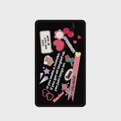 lovely rose sticker 보조배터리_(921729)