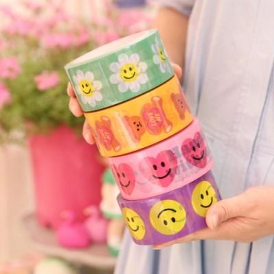 afrocat box tape_smile series