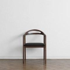 [헤리티지월넛] L형 의자 딥브라운_(1519347)