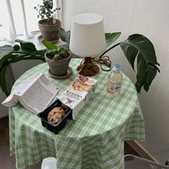 온더그린랜드 식탁보 테이블보 110x110cm 테이블러너