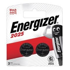 에너자이저 코인건전지 CR2025 (2입)