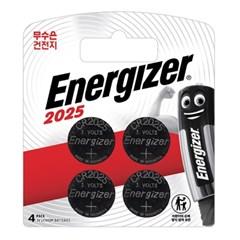에너자이저 코인건전지 CR2025 (4입)