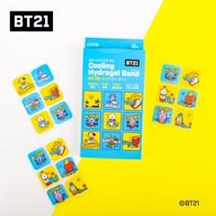BT21 쿨링 하이드로겔 밴드 18매입 벌레물린곳필수