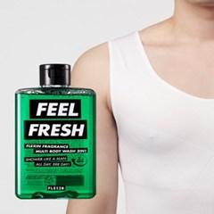 멀티바디워시 FEEL FRESH + 보정속옷 플렉스팩 나시 화이트L