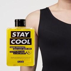 멀티바디워시 STAY COOL + 보정속옷 플렉스팩 나시 블랙 M/L