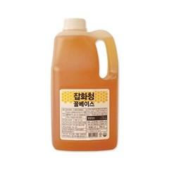 커피디바인 잡화청 꿀베이스 2.7kg