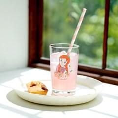 빨강머리앤 글라스 컵 세트