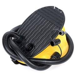 휴대용 수동 발펌프 튜브 자전거 바람 공기주입기