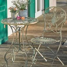 야외테이블세트 빈티지 의자 테이블_(157787)