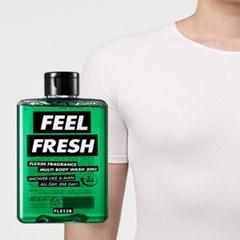 멀티바디워시 FEEL FRESH + 보정속옷 플렉스팩 반팔 화이트 M/L