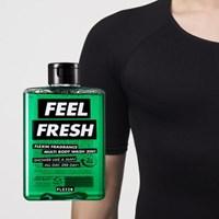 멀티바디워시 FEEL FRESH + 보정속옷 플렉스팩 반팔 블랙 M/L