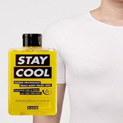 멀티바디워시 STAY COOL + 보정속옷 플렉스팩 반팔 화이트 M/L
