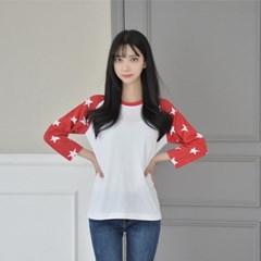 반짝 스타 7부 래글런 티 (3 colors) 티셔츠_(1584467)
