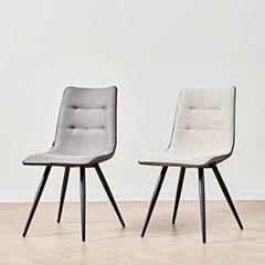 디센 뉴더블사이드 패브릭 가죽 식탁 의자_(11014599)