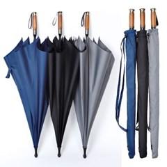 로베레 프리미엄 대형 자동장우산 어깨끈 우드그립 3컬러 (1101)