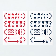 oab mark sticker / dot
