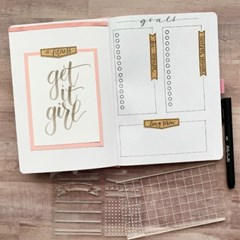 Clear Stamps -  Journaling