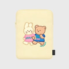 Nini friends-ivory-ipad pouch(아이패드 파우치)_(1578601)
