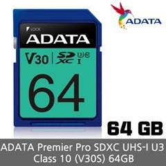 ADATA SD UHS-I U3 V30S 64GB