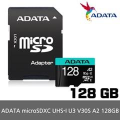 ADATA MicroSD UHS-I U3 V30S A2 128GB