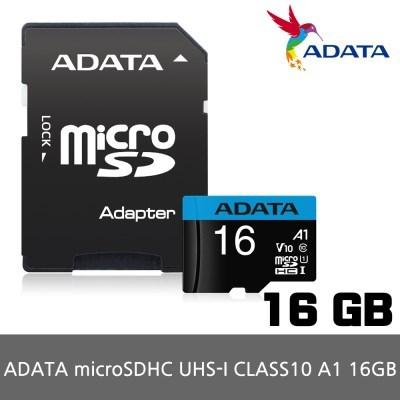 ADATA MicroSD UHS-I CLASS10 A1 16GB