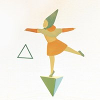 Girl & Triangle - MOBILE