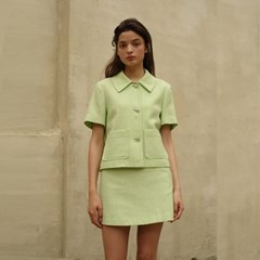 [룩캐스트] GREEN MIKA SUMMER SHORT TWO PIECE
