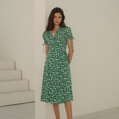 [룩캐스트] MULTI GREEN HANNAH DRESS