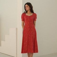 [룩캐스트] RED DARIA DRESS
