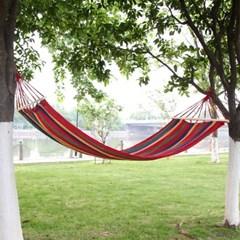 레인보우 캠핑 해먹 침대/캠핑용품 해먹그네 그물침대