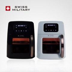 [스위스밀리터리] 보이는 사각 전자식 오븐프라이어 10리터 색상 택1