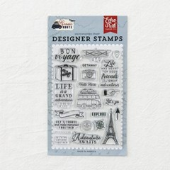 Clear Stamps - Let's Go Travel